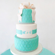 Многоярусный торт Тиффани