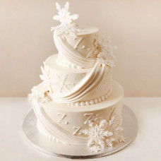 Свадебный торт «Зимняя Сказка»