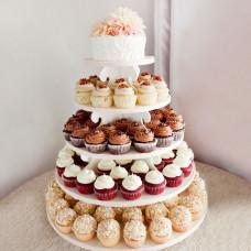 Свадебный торт с кексами