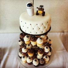 Порционный торт на свадьбу