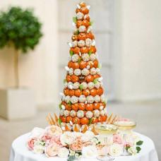 Торт в виде пирамиды Крокембуш