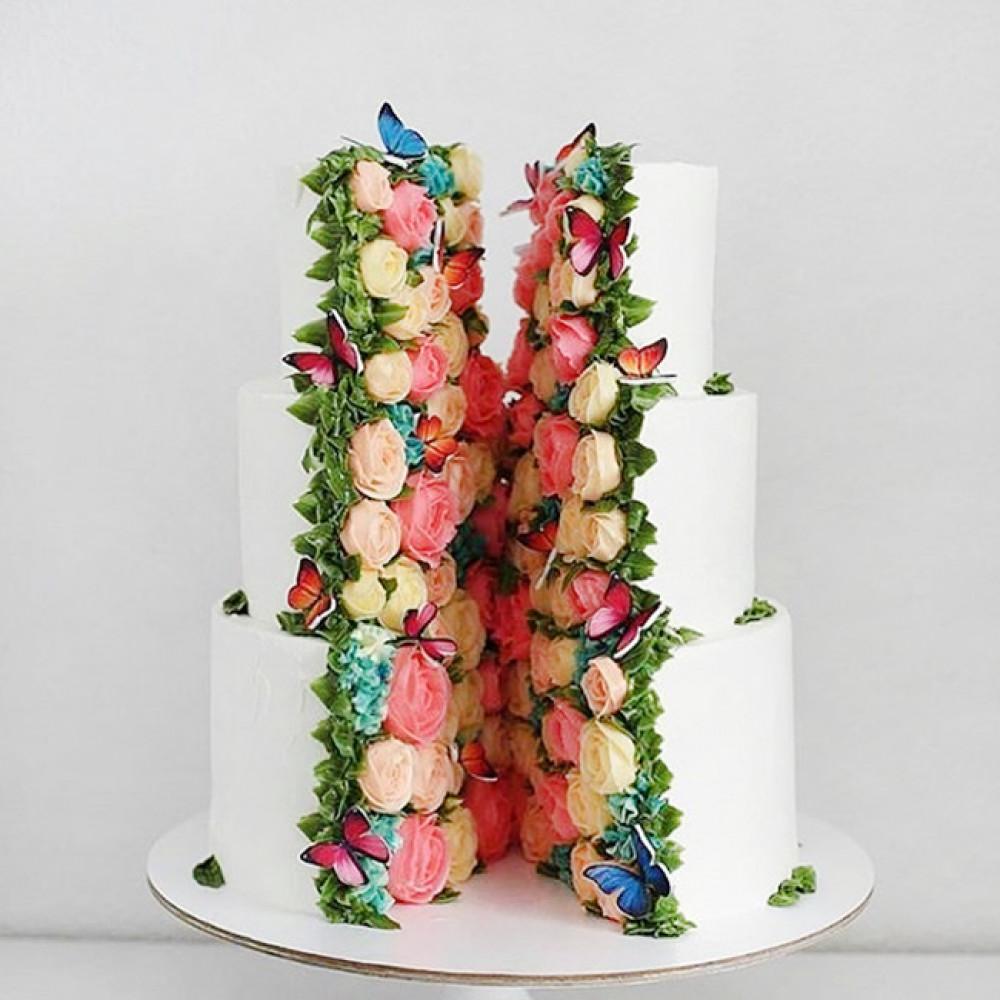 Элитный свадебный торт