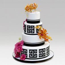 Роскошный свадебный торт