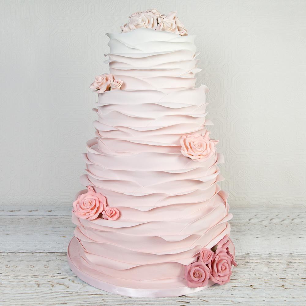 Элитный торт на свадьбу