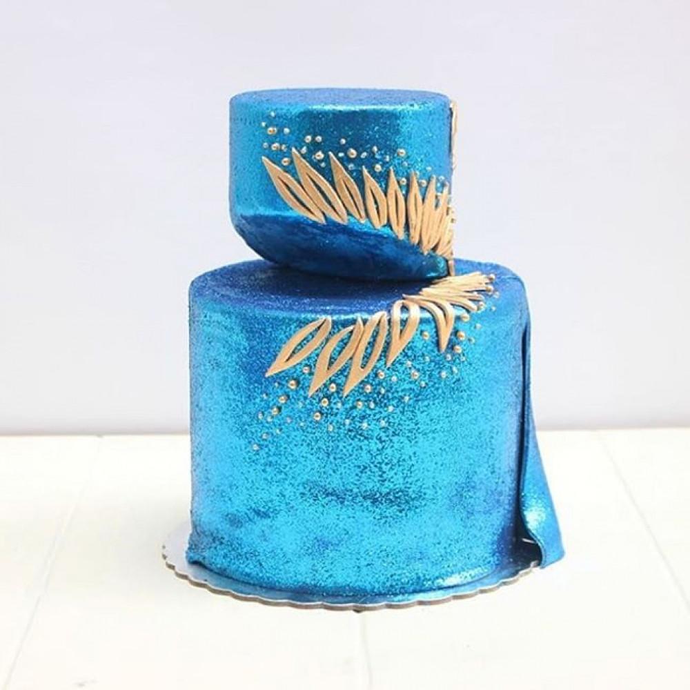 Свадебный торт нестандартной формы