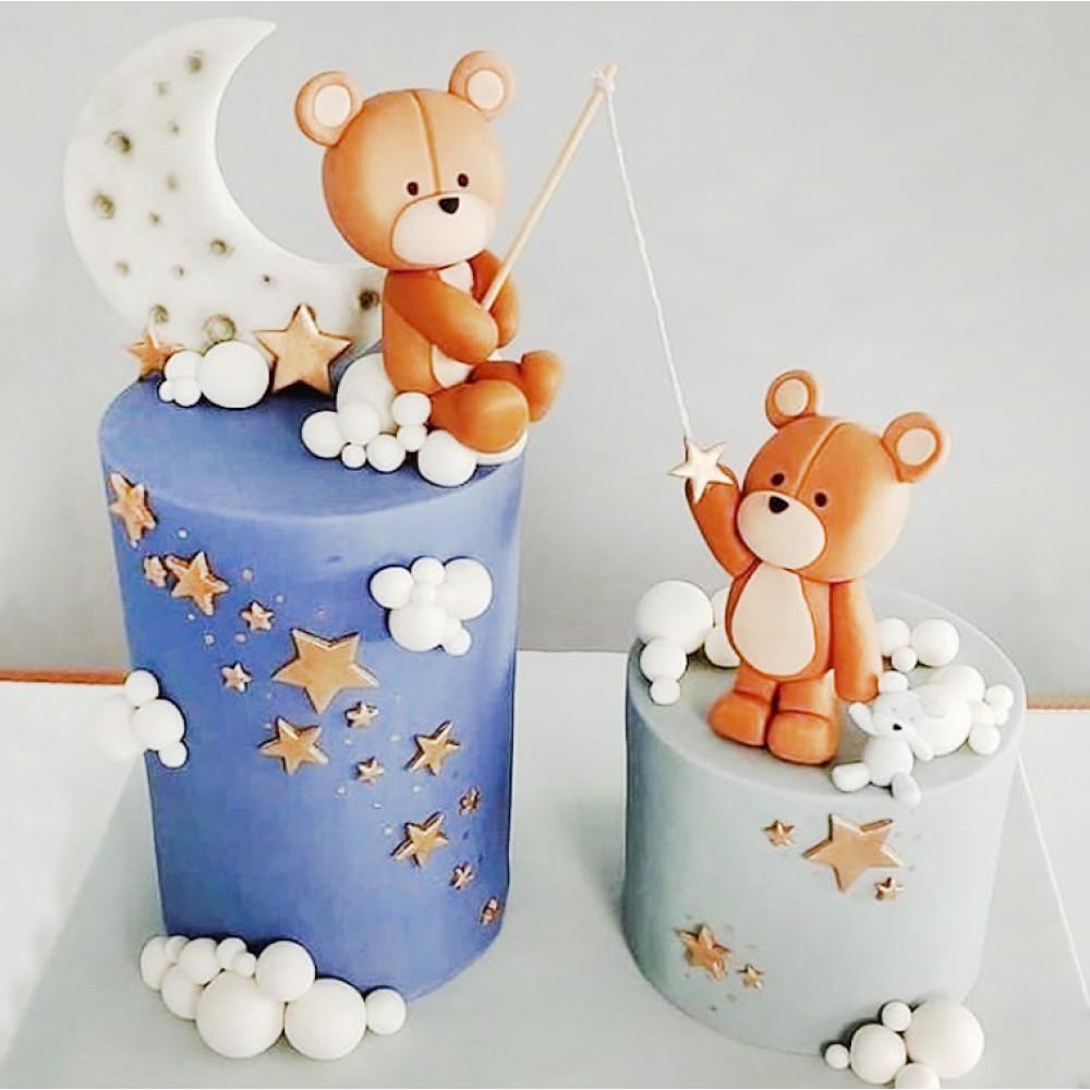 Свадебные торт с отдельными ярусами