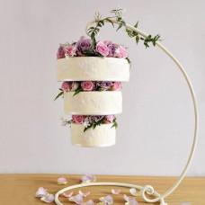 Свисающий торт на свадьбу