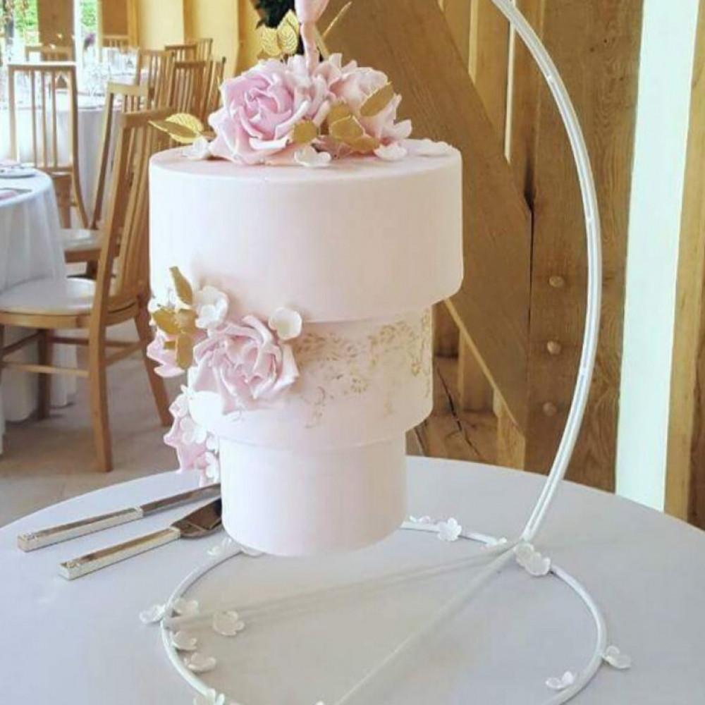 Висящий торт на свадьбу