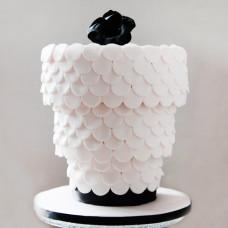 Свадебный торт перевертыш