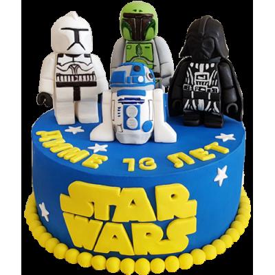 Тортик будет красивый и оригинальный